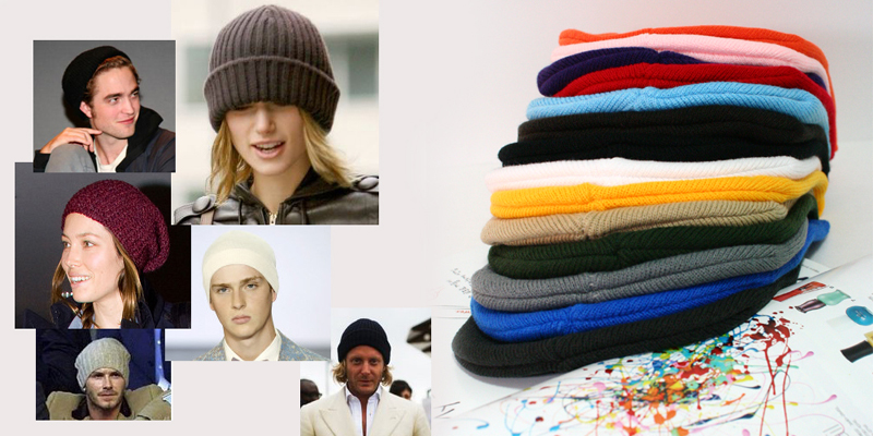 basic long beanie